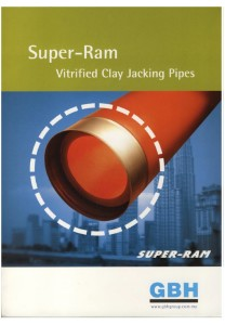 Super-Ram Vitrified Clay Jacking Pipes
