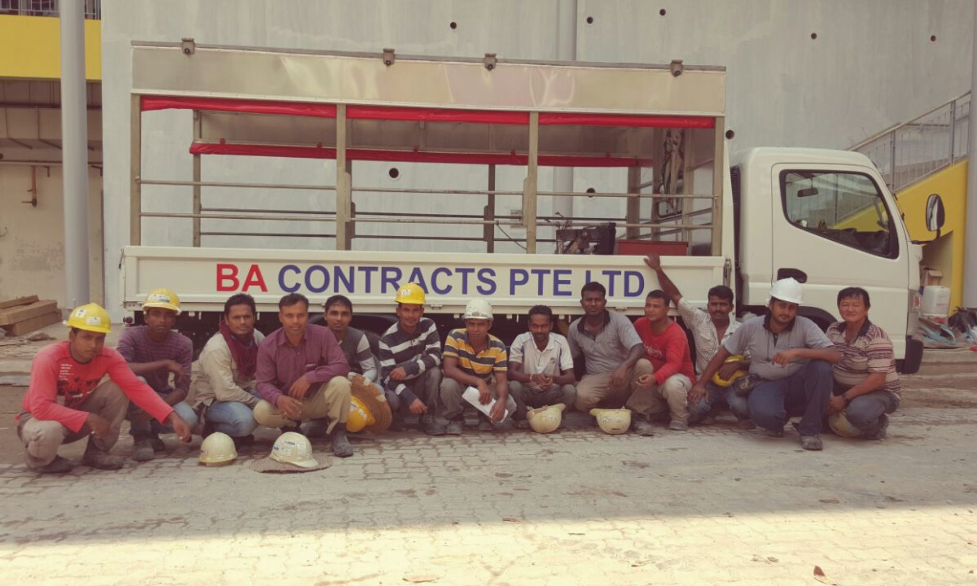BA Contracts Pte Ltd