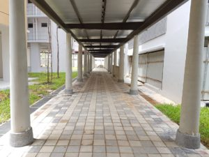 square-paver-for-sheltered-walkway