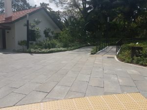 Permeable Pavers at Hort Park Dropoff Point 3