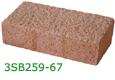 Sandblasted Clay Paver 67
