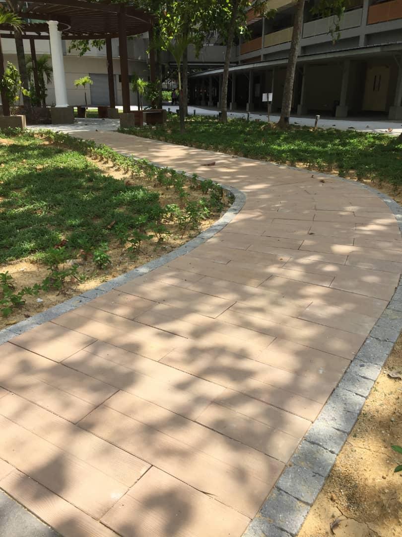 Wood Concrete Eurotiles Installation 2