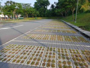 Carpark Lot Aerated Slab