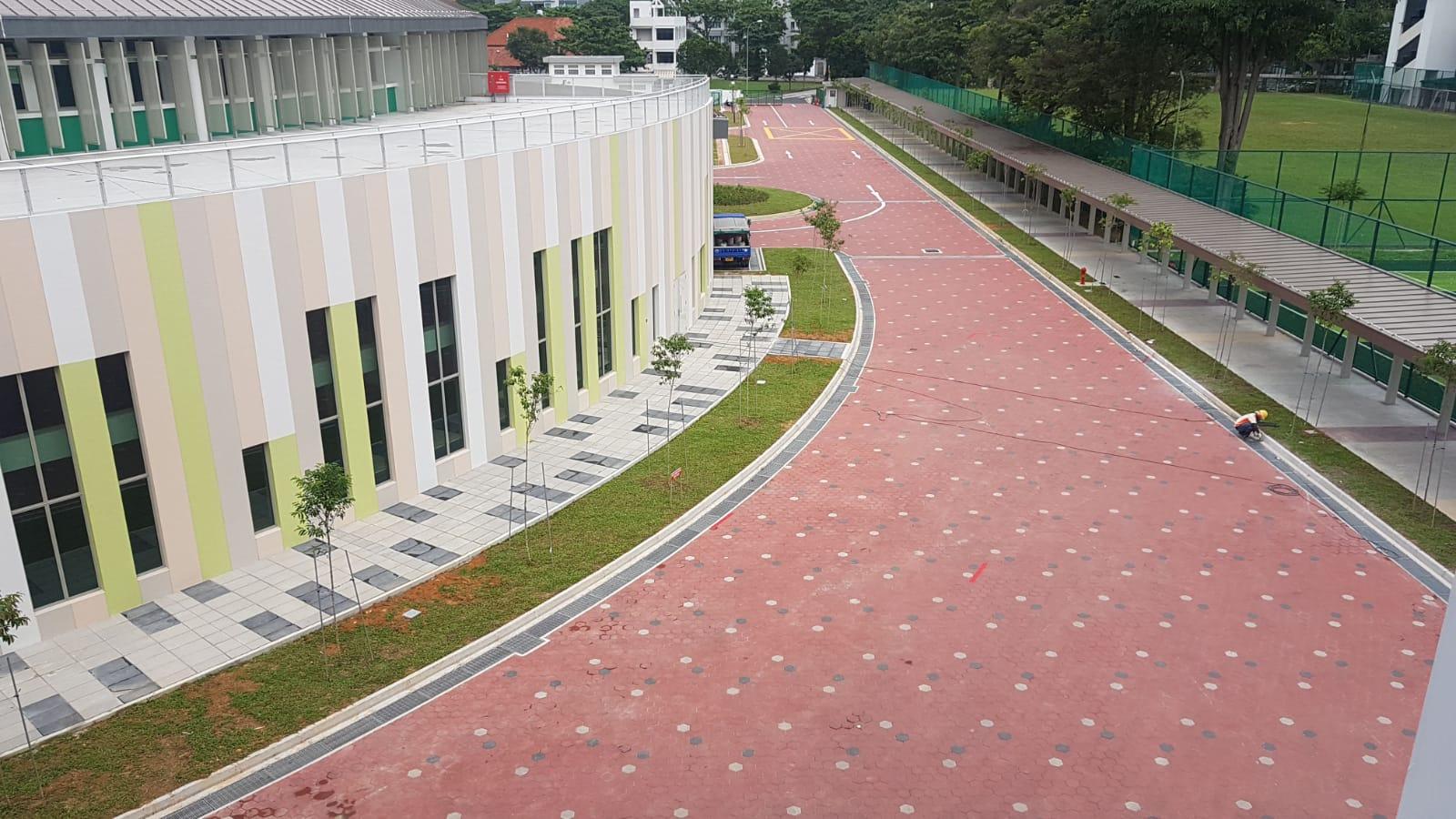 Hexagon Paver Driveway