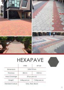 Hexapave