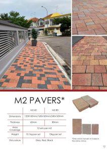 M2 Pavers