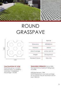 Round Grasspave