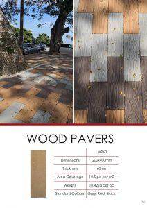 Wood Pavers